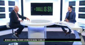 interview de mourad sur un plateau télé