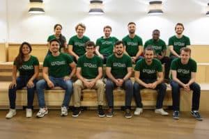 photo de groupe de l'équipe magma technology